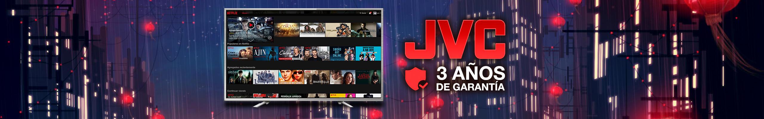 Televisores JVC al mejor precio solo en LOI Chile