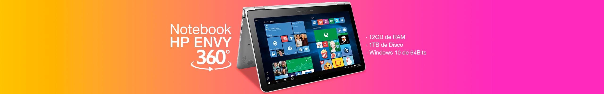 Notebook HP ENVY 360°