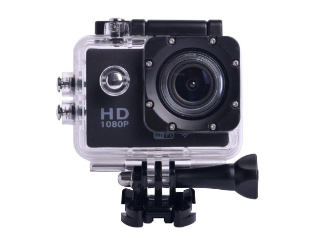 Cámara HD Kit Sports 1080p Sumergible