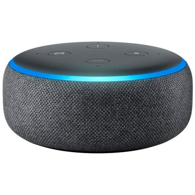 Amazon Echo Dot 3rd Charcoal al mejor precio solo en loi