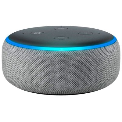 Amazon Echo Dot 3rd Heather Gray al mejor precio solo en loi