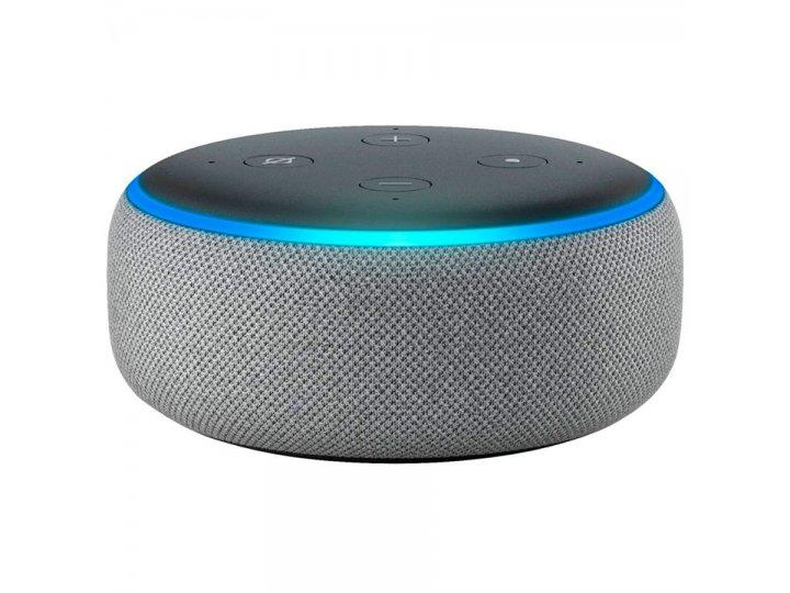 Amazon Echo Dot 3rd Heather Gray al mejor precio solo en loi