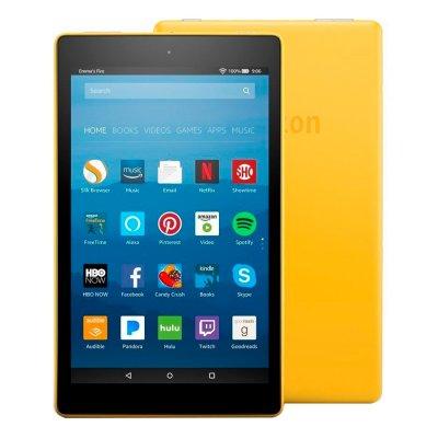 Amazon Fire HD 8 32GB - Amarillo al mejor precio solo en Loi