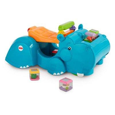 Andador Hipopótamo recoge bloques Fisher Price al mejor precio solo en loi