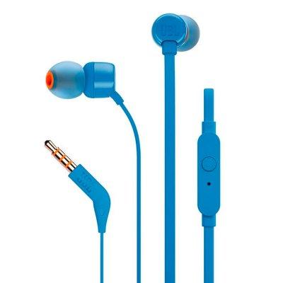 Audífonos JBL T110 Control Remoto y Micrófono - Celeste al mejor precio solo en Loi