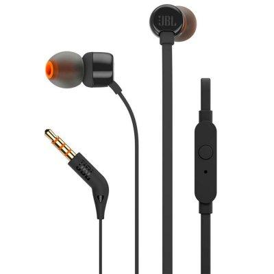 Audífonos JBL T110 Control Remoto con Micrófono - Negro al mejor precio solo en loi