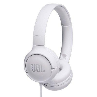 Audífonos JBL T500 Control con Micrófono - Blancos al mejor precio solo en loi