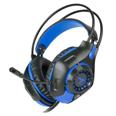 Audifonos Gamer Dragon Series Rescue Surround 7.1 Azul al mejor precio solo en loi