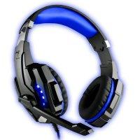 Audífonos Gamer Kolke Cobra 7.1 USB Azul
