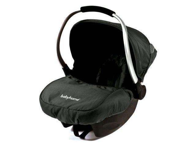 Silla para auto Baby Home modelo Eggo+ Negro al mejor precio solo en loi