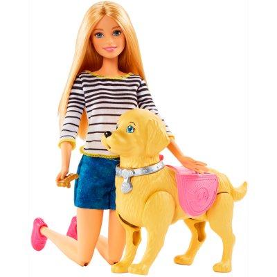 Barbie Paseo de Perrito al mejor precio solo en loi