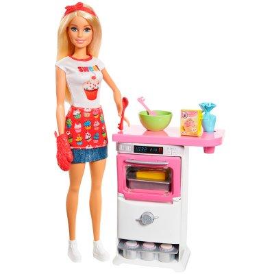 Set de juego Barbie Chef de Pastelitos al mejor precio solo en loi