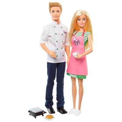 Set de 2 Muñecos Barbie + Ken Cocinan al mejor precio solo en loi