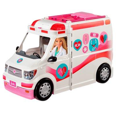 Barbie Hospital Móvil con más de 20 piezas frm29 al mejor precio solo en loi