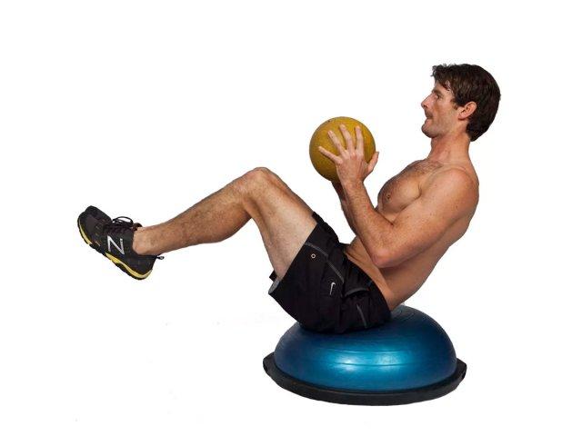 ... Bosu Ball Media Esfera con Bomba y Elásticos Tensores al mejor precio  solo en LOI ... 812cbb3129fa