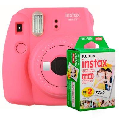 Fujifilm instax mini 9 Instantanea Pink + Twin Pack al mejor precio solo en loi