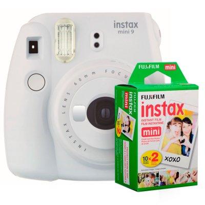 Fujifilm instax mini 9 Instantanea White + Twin Pack al mejor precio solo en loi