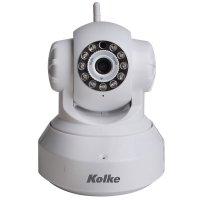 Cámara Kolke IP Kuc-023 Wifi con visión nocturna Blanca al mejor precio solo en loi