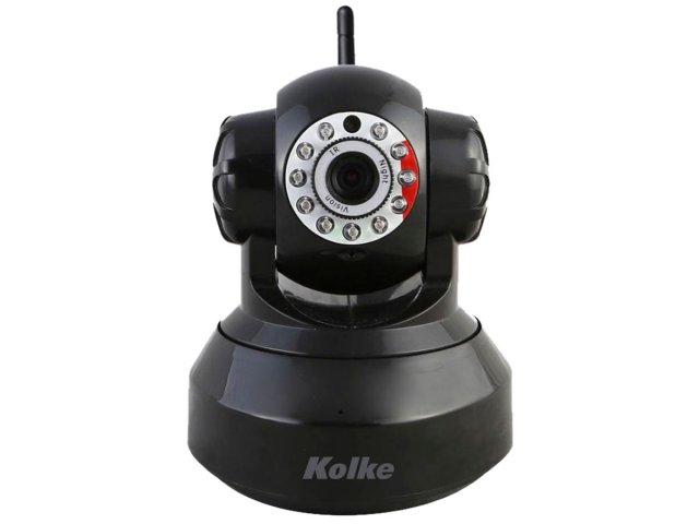Cámara Kolke IP Kuc-023 Wifi con visión nocturna Negra al mejor precio solo en loi