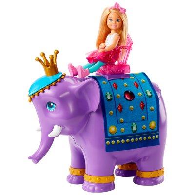 Chelsea y Rey Elefante Barbie Dreamtopia al mejor precio solo en loi