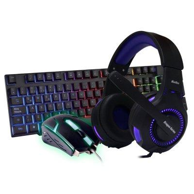 Combo Gamer Savage Audífonos + Teclado + Mouse al mejor precio solo en loi