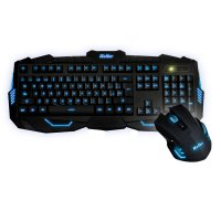 Kit Kolke Teclado y Mouse Gamer PRO retro luces 531