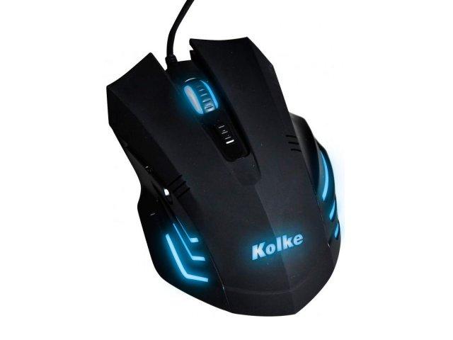 Kit Kolke Teclado y Mouse Gamer PRO retro luces 531