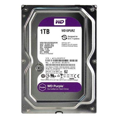 Disco Duro Purple WD Sata 3.5 1TB para Videovigilancia al mejor precio solo en loi