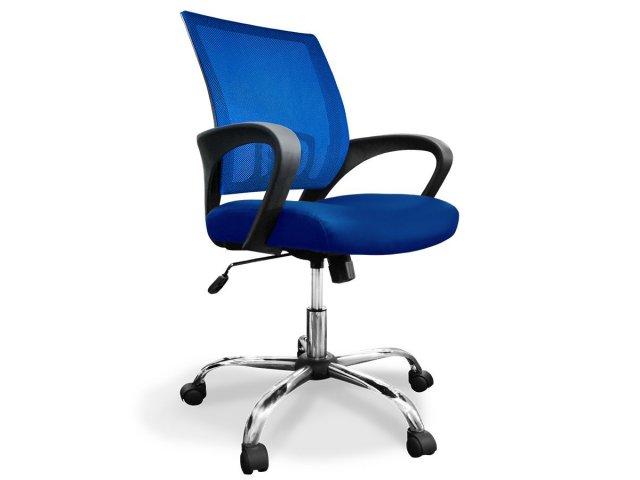 Silla ejecutiva ergon mica donna x5 style deluxe azul for Sillas ergonomicas chile