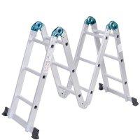Escalera Articulada en Aluminio 10 Posiciones al mejor precio solo en LOI