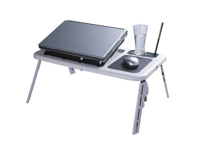 Mesa Plegable para Notebook y Netbook Con Fan