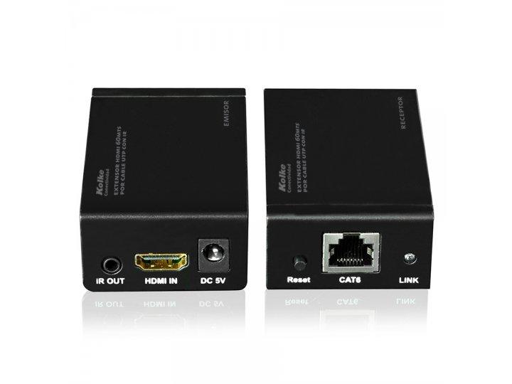 Extensor HDMI por cable de 60mts de alcance al mejor precio solo en loi