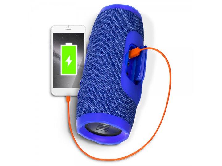 Parlante JBL Charge 3 Bluetooth Waterproof Azul al mejor precio solo en loi