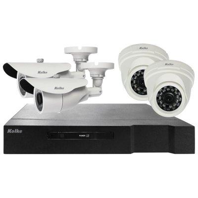 Multi kit Vigilancia 2 Domos y 2 Bullet HD + DVR al mejor precio solo en loi