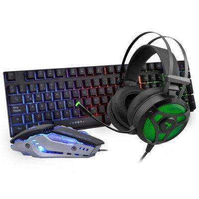 Kit Gamer Audifonos Havoc + Teclado + Mouse Alpha al mejor precio solo en loi