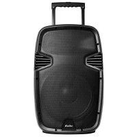 Parlante Kolke 115 Karaoke Batería Bluetooth 2 micros