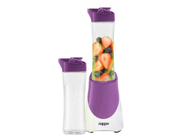 Licuadora Nappo eléctrica portátil con 2 vasos Violeta al mejor precio solo en loi