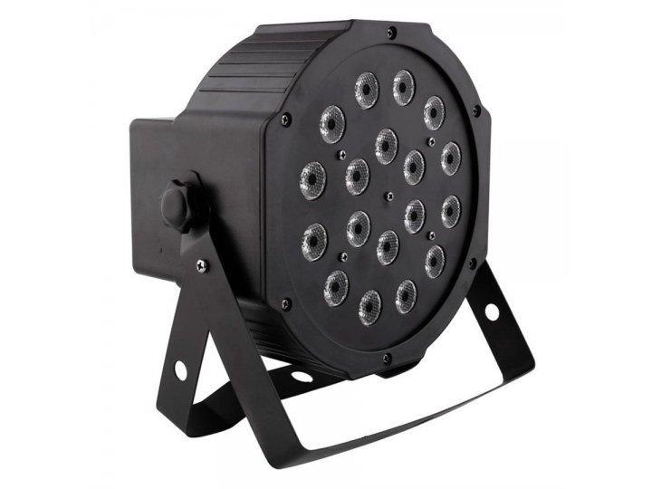 Luz Disco LED RGB con Control Remoto al mejor precio solo en loi
