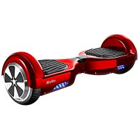 Motor Skate Scooter Rojo c/ Parlantes Bluetooth