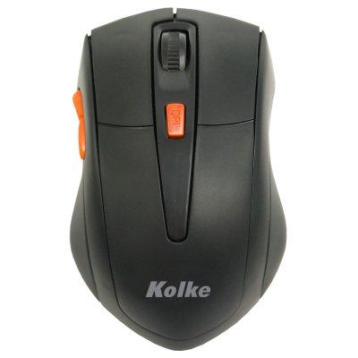 Mouse Inalámbrico Kolke KEM-247 Naranja al mejor precio solo en loi
