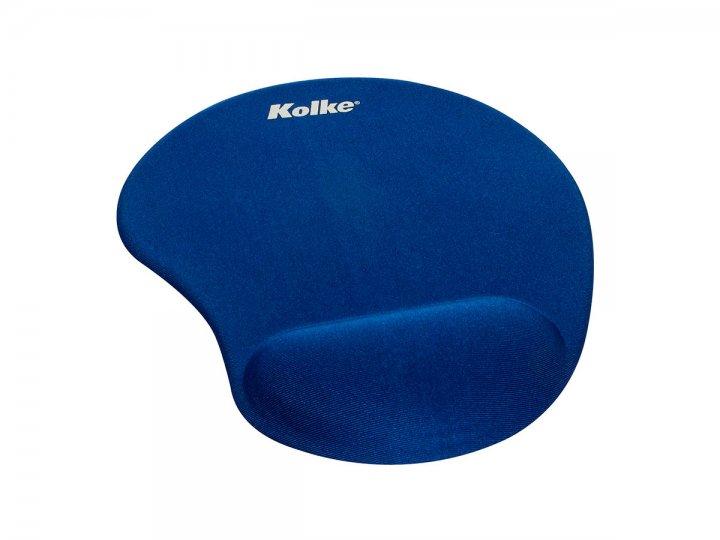 Mause Pad Ergonómico con Gel Kolke Azul al mejor precio solo en loi