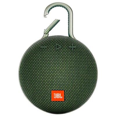 Parlante JBL Clip3 Bluetooth portátil Waterproof Green al mejor precio solo en loi