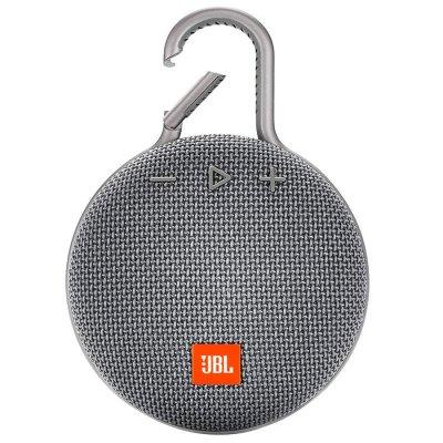 Parlante JBL Clip3 Bluetooth portátil Waterproof Gray al mejor precios solo en loi