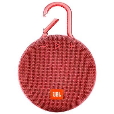Parlante JBL Clip3 Bluetooth portátil Waterproof Red al mejor precio solo en loi
