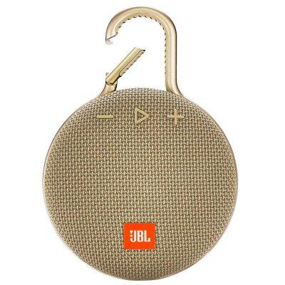 Parlante JBL Clip3 Bluetooth portátil Waterproof Sand al mejor precio solo en loi