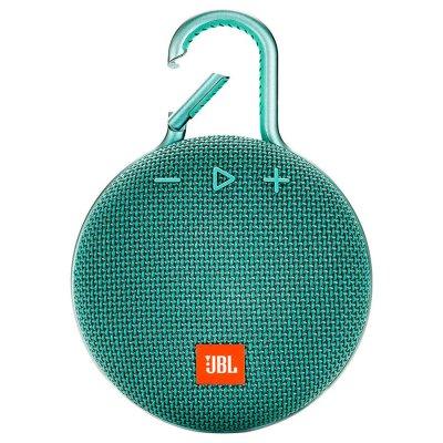 Parlante JBL Clip3 Bluetooth portátil Waterproof Teal al mejor precio solo en loi