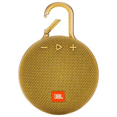 Parlante JBL Clip3 Bluetooth portátil Waterproof Yellow al mejor precio solo en loi