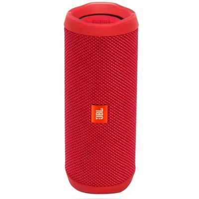 Parlante JBL Flip 4 Bluetooth Portátil Waterproof Rojo al mejor precio solo en loi