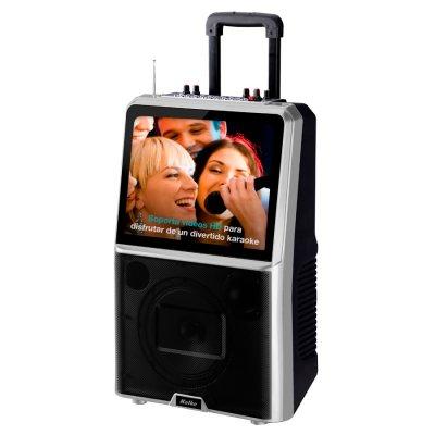 Parlante Karaoke Pro Bluetooth con pantalla LED HD  al mejor precio solo en loi