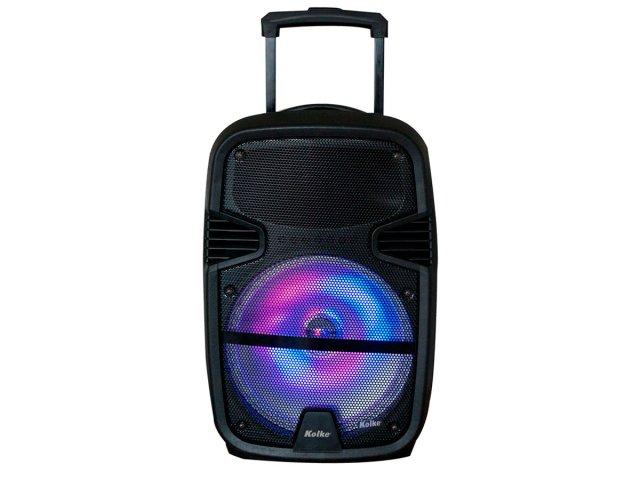 Parlante Potenciado Bluetooth Micrófono Batería USB FM al mejor precio solo en loi